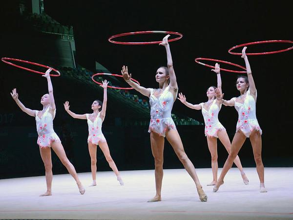Bakıda bədii gimnastika üzrə Dünya Kuboku yarışları - FOTOSESSİYA