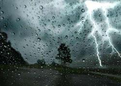 Yağış yağacaq - Sabahın HAVAsı