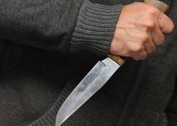 Ağsu sakinini həmkəndlisi bıçaqladı