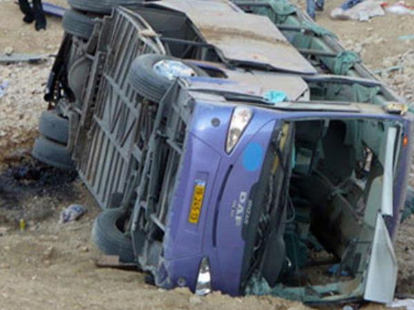 """Türkiyədə sərnişin avtobusu aşdı: <span class=""""color_red"""">çox sayda yaralı var</span>"""