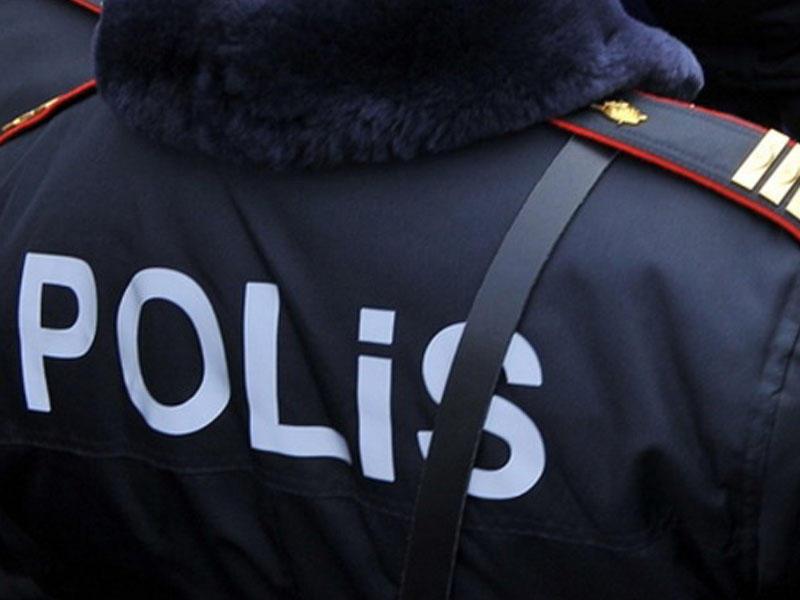 Polis Bakıda əməliyyat keçirdi