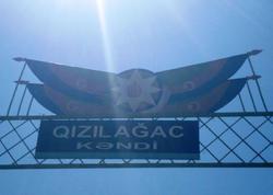 Göyçayda bayrağımıza hörmətsizlik - FOTO