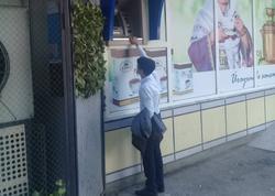 Mingəçevirdə qeyri-adi bankomat - Bank vəziyyəti izah etdi - FOTO