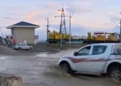 Goranboyda sel ciddi fəsadlar törədi - VİDEO - FOTO