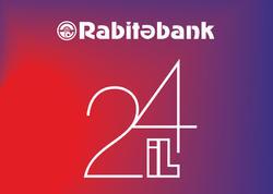 Rabitəbank 24 yaşını qeyd edir