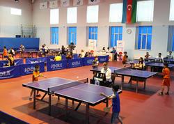 Stolüstü tennis üzrə Azərbaycan birinciliyinə start verilib - FOTO