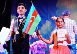 Azərbaycanlı məktəblilər beynəlxalq müsabiqənin qalibi olublar - FOTO