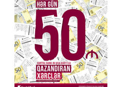 Kapital Bank-ın 305 müştərisi 50 AZN qazanıb