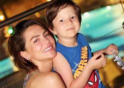 Günayın oğlu ilə Bodrum istirahəti - FOTOlar