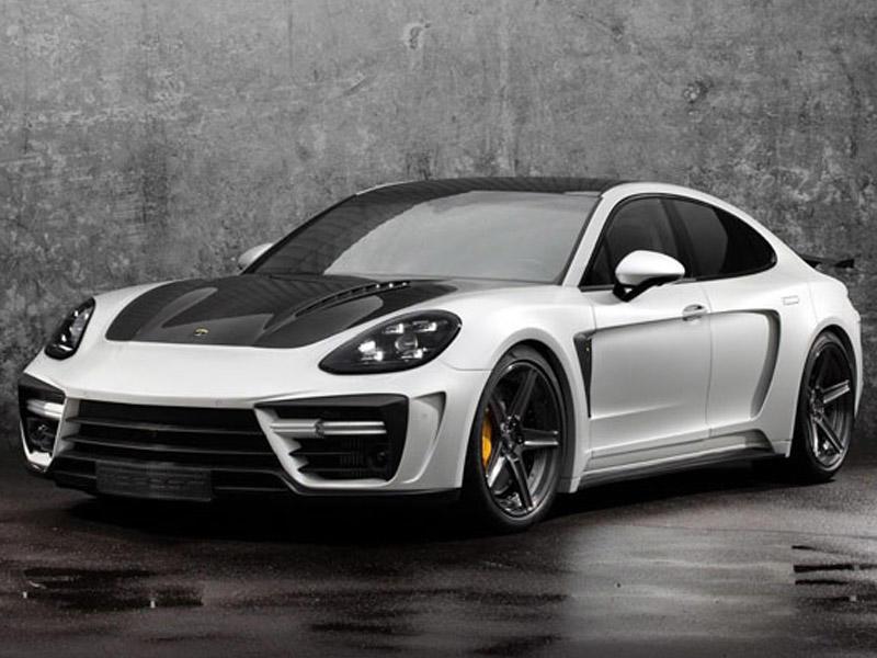 Porsche Panamera-ya karbon geyindiriblər - FOTO