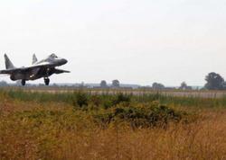 Azərbaycanın MiQ-29 qırıcısı Lvov səmalarında
