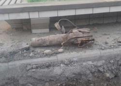 """Füzulidə """"Qrad"""" raketinin qalıqları aşkarlandı - FOTO"""