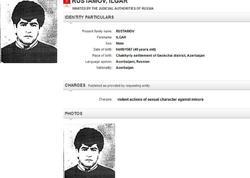 İnterpol Rusiyada cinayət törədən bu azərbaycanlını axtarır