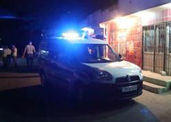 Bakıda dava: bir nəfər güllələndi - VİDEO - FOTO
