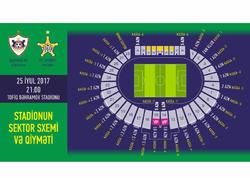"""""""Qarabağ"""" - """"Şerif"""" matçının biletlərinin satışa çıxarılacağı tarix açıqlandı"""