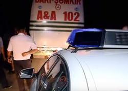 Polis və nəqliyyat müfəttişləri reyd keçirib - VİDEO