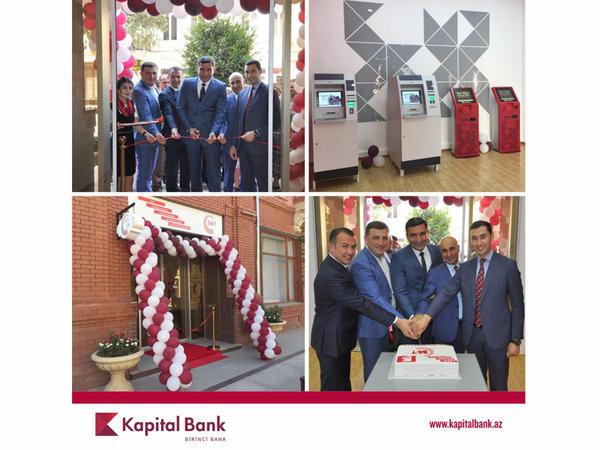 Kapital Bank 24/7 Elektron Xidmət Mərkəzini istifadəyə verdi