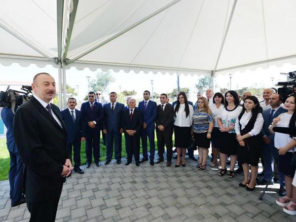 """Prezident İlham Əliyev: """"Pirallahı rayonunda turizmin inkişafı bundan sonra sürətlə gedəcək"""""""