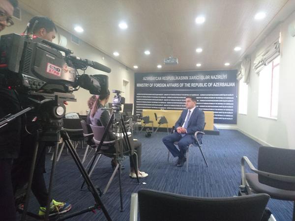 """""""Azərbaycan və Çin tarixən İpək Yolunun üzərində mühüm rol oynayıb"""""""