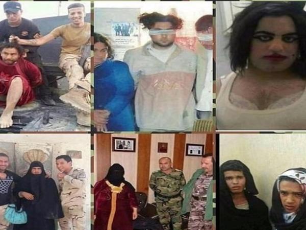 Terrorçular qadın geyimində qaçmağa çalışdılar - FOTOlar