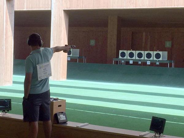 Ruslan Lunyov Avropa çempionatında mübarizəyə qoşulub - FOTO