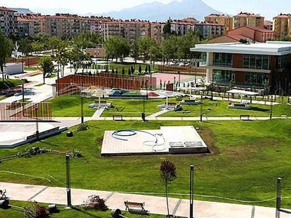 Aksaray vilayətində Qarabağ parkı və Xarıbülbül abidəsinin açılışı olub - FOTO