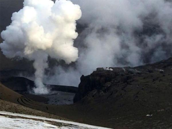Rusiyada vulkan püskürüb