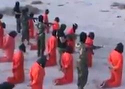 Şok kadrlar: 18 İŞİD terrorçusu edam olundu - VİDEO - FOTO