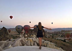 Aynişan Kapadokyada - FOTO