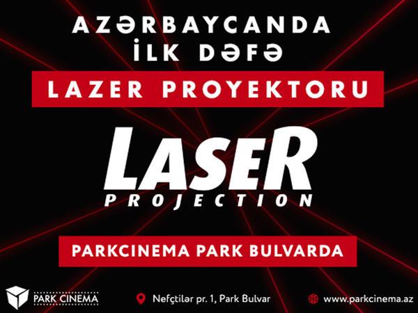 Azərbaycanda ilk lazer proyektoru