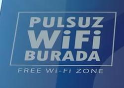 """Bakının bu yerlərində də pulsuz """"Wi-Fi"""" olacaq - VİDEO"""