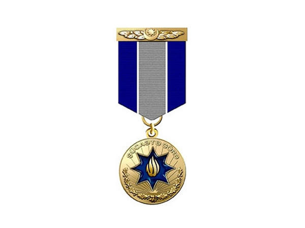 Şəhidin medalı ailəsinə təqdim olundu - FOTO