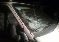 Bakıda sərxoş piyadanı yük avtomobili vurub - FOTO