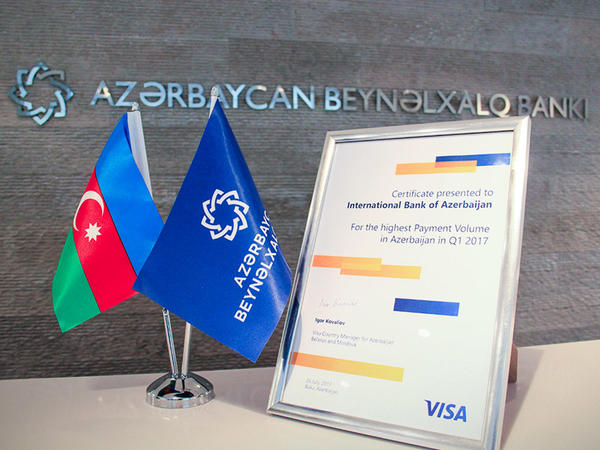 Azərbaycan Beynəlxalq Bankı VISA kartları ilə ödənişlərin həcminə görə liderdir