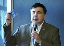 Saakaşvili Polşaya Ukrayna pasportu ilə gəldi - VİDEO