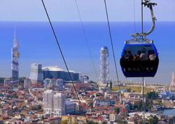 Gürcüstan bir ildə turizmdən 1 milyard dollardan çox qazandı