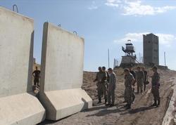 Türkiyə-İran sərhədində divarın tikintisinə başlanıldı