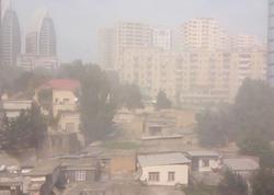 Bakıdakı toz-dumanlı hava ilə bağlı kardioloqdan XƏBƏRDARLIQ - VİDEO