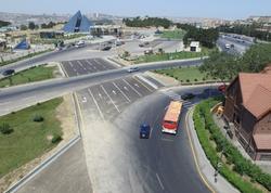 """Metronun """"Avtovağzal"""" stansiyasının ətrafında yeni yol salınıb - FOTO"""
