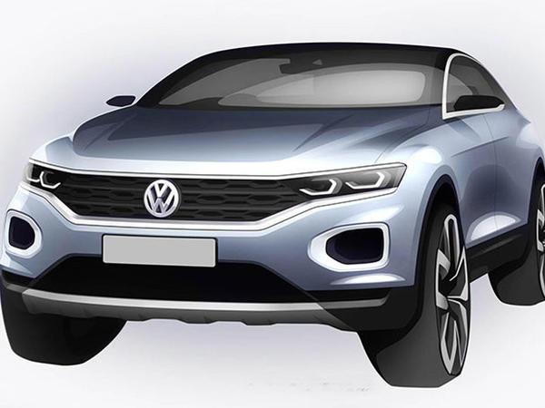 VW ucuz krossoverin dizaynını göstərdi - FOTO