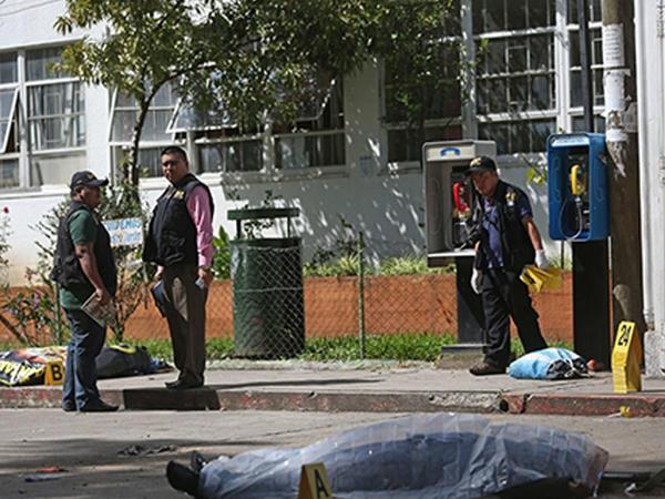 Qvatemalada xəstəxanaya hücum: 7 ölü, 12 yaralı - FOTO