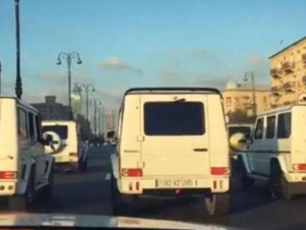 """Polis toy karvanındakı """"Gelandewagen""""ləri axtarır - VİDEO"""