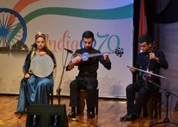 Beynəlxalq Muğam Mərkəzində hind musiqisi uğurla səsləndi - FOTO
