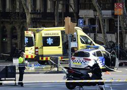 İspaniyada kütlənin üstünə sürülən mikroavtobusun sürücüsü öldürülüb