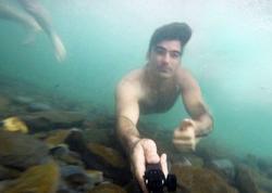 26 yaşlı gənc çayda boğuldu - VİDEO