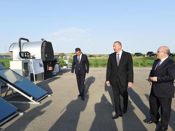 Prezident İlham Əliyevin Göygöl və Samux rayonlarına səfəri - YENİLƏNİB - FOTO