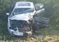Oğuzda ağır yol qəzası: 3 nəfər ölüb, 4 nəfər xəsarət alıb - YENİLƏNİB - FOTO