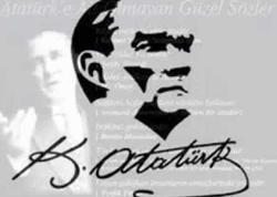 Atatürkün özü qədər sevilən imzasının tarixçəsi... - FOTO
