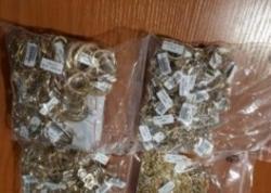 Hava limanında Azərbaycan vətəndaşı 2 milyon dollarlıq qızılla saxlanıldı - FOTO