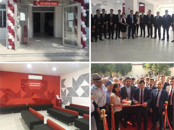Kapital Bank-ın yenilənən Beyləqan filialı istifadəyə verildi